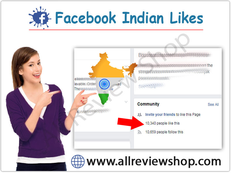 Buy Facebook Insian Page Likes