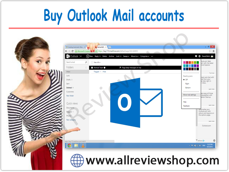 Buy Outlook Mail accounts